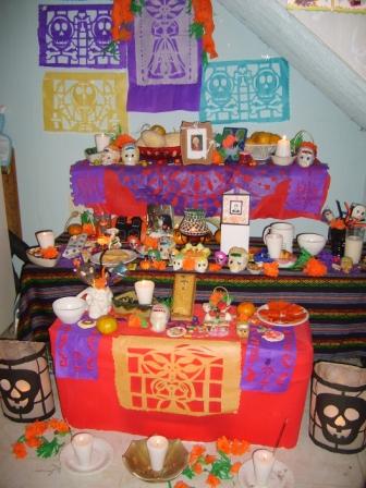 Altar típico